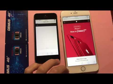 Genius sim unlock iphone 5S & 6P