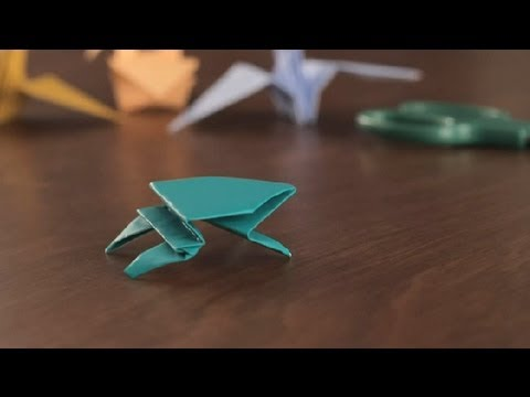 How to Make an Origami Frog : Simple & Fun Origami