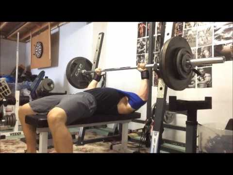 300lb Bench Press with Slingshot @181 bodyweight