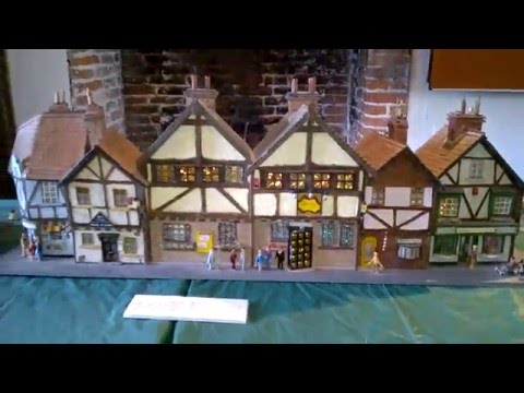 Model Houses Display at the Tudor House, Margate