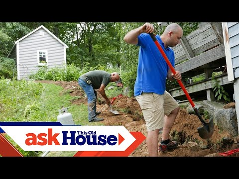 How to Run Underground Power to a Shed