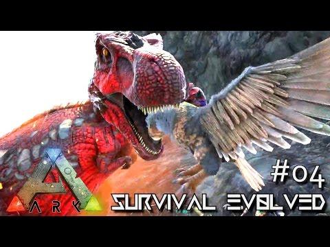 ARK: Survival Evolved - ALPHA TREX & 200+ TAMING !!! - SEASON 4 [S4 E04] (The Center Map Gameplay)