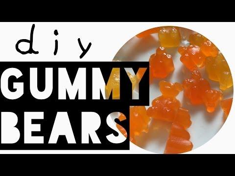 DIY - Homemade & HEALTHY DIY gummy bears!