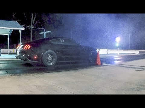 My Mustang's FIRST 10 second pass!!!