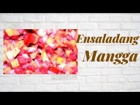 Ensaladang Mangga (easy)