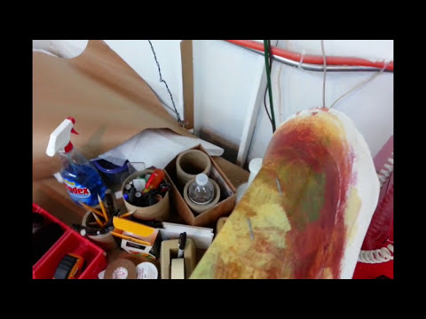 Framing: How To Stretch and Frame A Huge Roll Canvas
