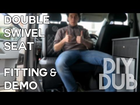 DIYDUB - KIRAVANS double swivel seat FITTING & DEMO