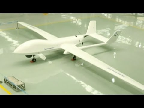 China's new UAV can distinguish moving license plate numbers from 3,000 meters