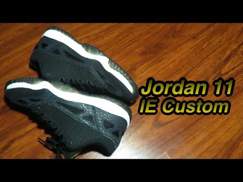 Jordan 11 IE Custom!