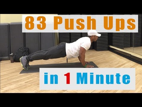 How To Do 83 Push Ups in 1 Minute | Army Military APFT Tips