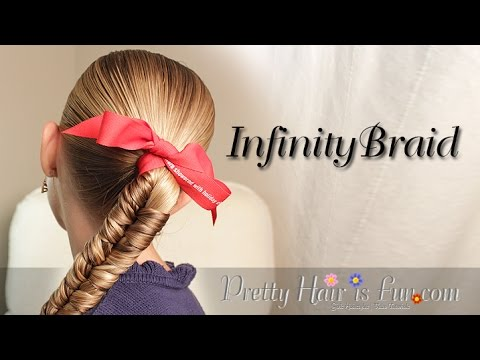 How to: Infinity Braid {Braid Hairstyles} | Pretty Hair is Fun
