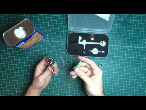 How to clean your Master Airbrush (G22model)