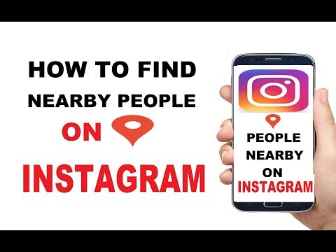 Find people Near by you in Instagram