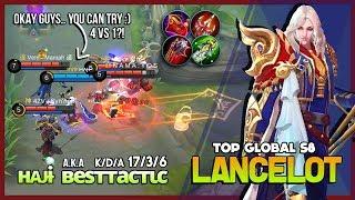 Lancelot Spamming King of Puncture ʜᴀᴊ̶ɨ̶  a.k.a вeѕттacтιc Top Global Lancelot S8 ~ Mobile Legends