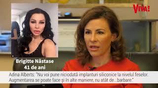 Download Adina Alberts, chirurg estetician, despre operațiile lui Brigitte Năstase: