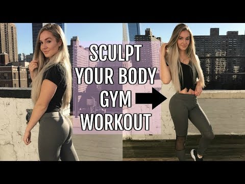 Sculpt Your Body Gym Workout | Full Body Routine