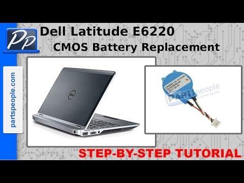 Dell Latitude E6220 CMOS Battery Video Tutorial Teardown