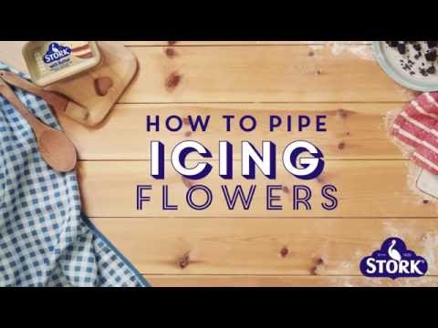 Bake with Stork: How to Pipe Icing Flowers