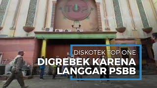 Langgar PSBB, Diskotek Top One Digerebek, Ratusan Orang Terciduk