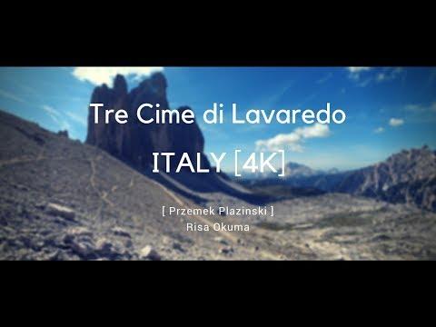 Tre Cime di Lavaredo (Drei Zinnen) Italy.  HIKING IN EUROPE!