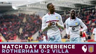 MATCH DAY EXPERIENCE | Rotherham 0-2 Villa