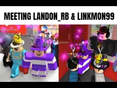 MEETING LANDON_RB AND LINKMON99 (no joke)