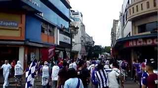 Ultra Morada Carnaval En Chepe Centro, Saprissa Vs San Carlos  3/25/2012