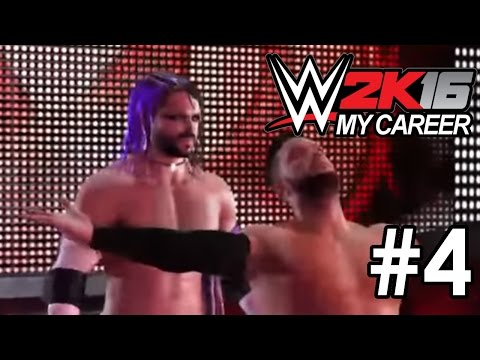 WWE 2K16 (Live on Twitch.TV): My Career Mode (PART 4)
