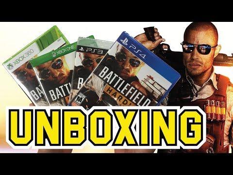 Battlefield Hardline (PS3 / PS4 / Xbox360 / XboxOne) Unboxing!!