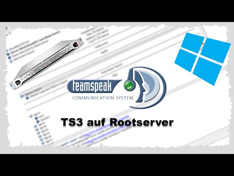 [HowTo] TeamSpeak 3 Server auf Windows Rootserver | German