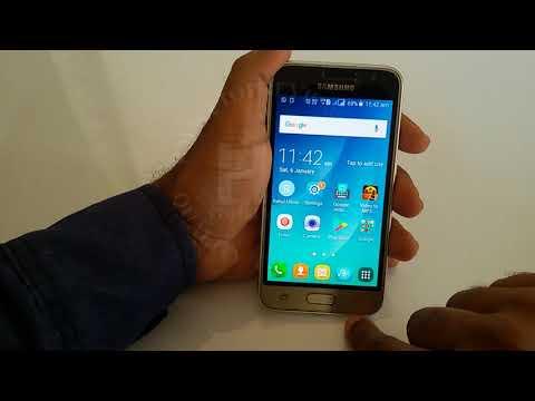 How to turn off Talk back Samsung Galaxy J1 4G | Disable Talkback Samsung J1 4G mobile phone 2018