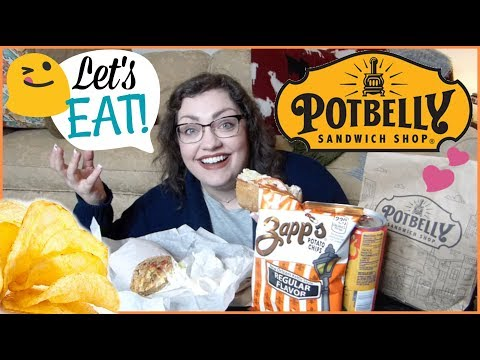 Potbelly Sandwich Shop | MUKBANG (Eating Show)