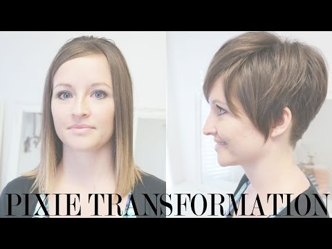 Pixie Haircut Transformation: Kara's Pixie Before and After