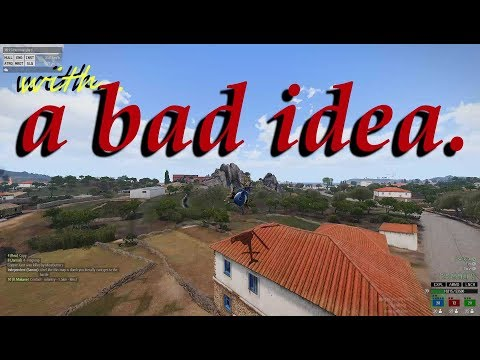Combat Landings with a bad idea. part one