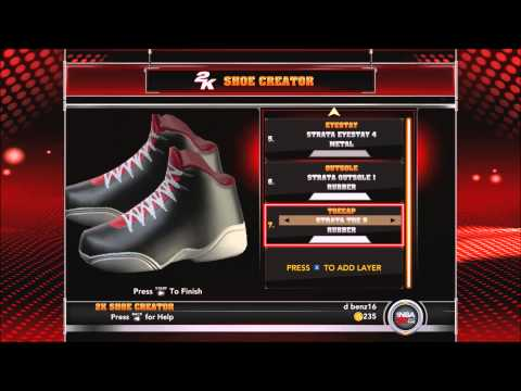 nba 2k15 current gen - SHOE CREATOR - building custom JORDANS