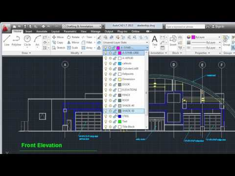 Create Text and Dimensions: AutoCAD LT 2013
