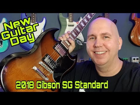 The New 2018 Gibson SG Standard