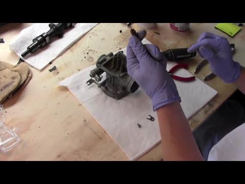 Motorcycle Carburetor Cleaning and Rebuild part 1