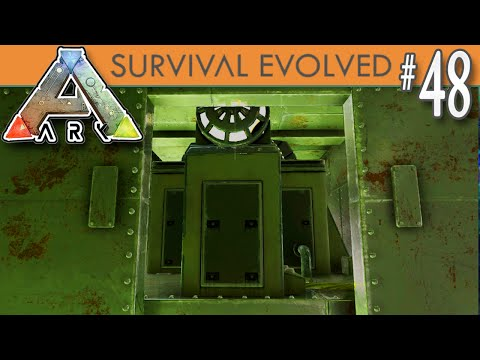 ARK: Survival Evolved - Installing the Electricity, Generator, Cable, Refrigerator - E48