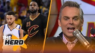 Colin Cowherd reacts to the 2018 NBA All-Star voting | THE HERD