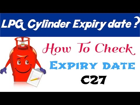 how to check expiry date of LPG gas cylinder