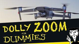 Mavic 2 Zoom - Dolly Zoom Effect Easy Tutorial