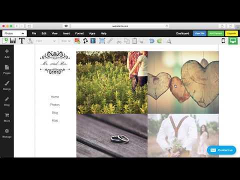 How To Create A Wedding Website