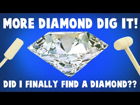 Dig It Diamond Again - Did I Find a REAL Diamond This Time?!? Surprise Toy