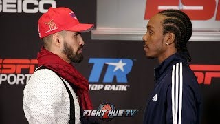 JOSE RAMIREZ VS AMIR IMAM - FULL FACE OFF VIDEO - FINAL PRESS CONFERENCE