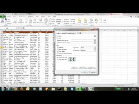 How to Freeze the Top Row in Excel