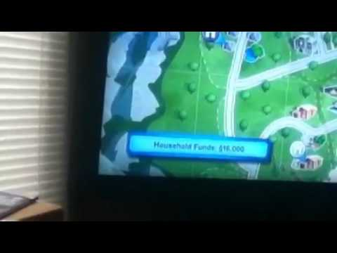Sims 3 PS3 cheat- llama, mailbox, and the start menu