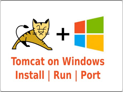 TOMCAT - How to install and run on Windows | Change Port | Run app