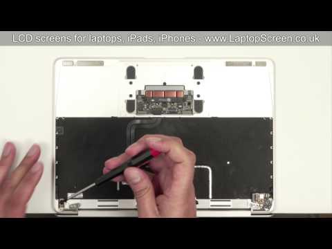 MacBook 12 Retina - how to replace laptop screen