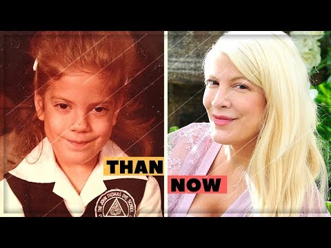 Tori Spelling | Changing Looks From 1 To 44 Years Old